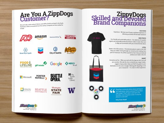 ZippyDogs Booklet Interior