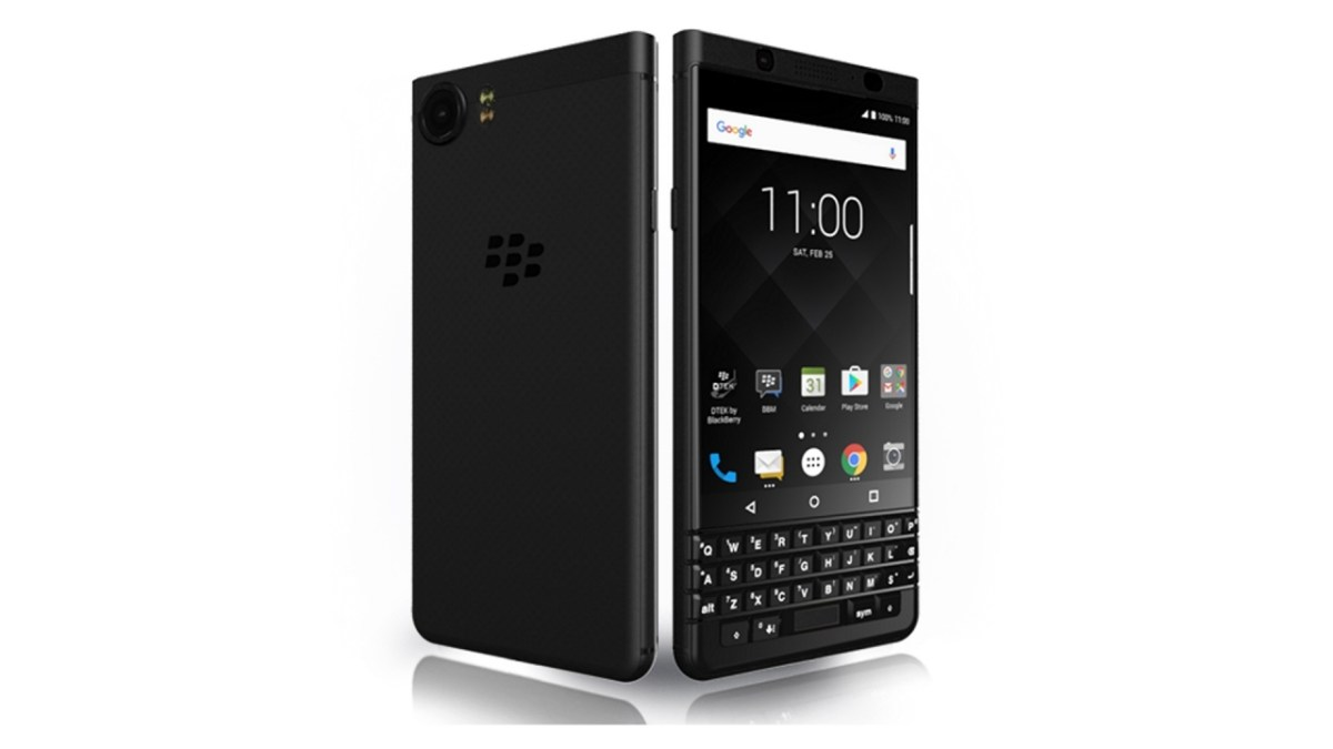 デュアルSIM「BlackBerry KEYone LIMITED EDITION BLACK」が米Amazonに登場、直輸入可能に