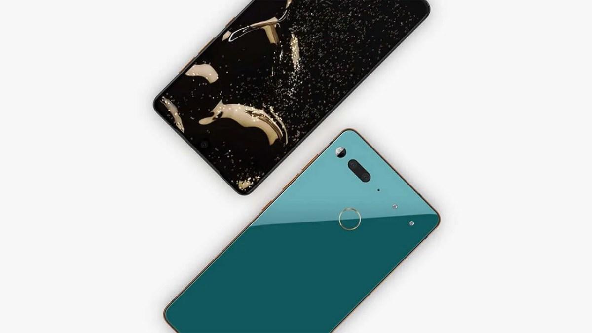 「Essential Phone」オーシャンデプスが完売