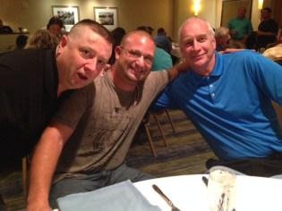 L to R: Howard Crabtree, Randy Koenig and Drew Stauffer
