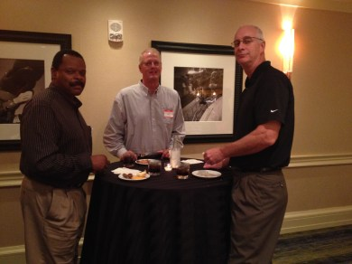 L to R: Gil Young, Brian Matheny and Drew Stauffer