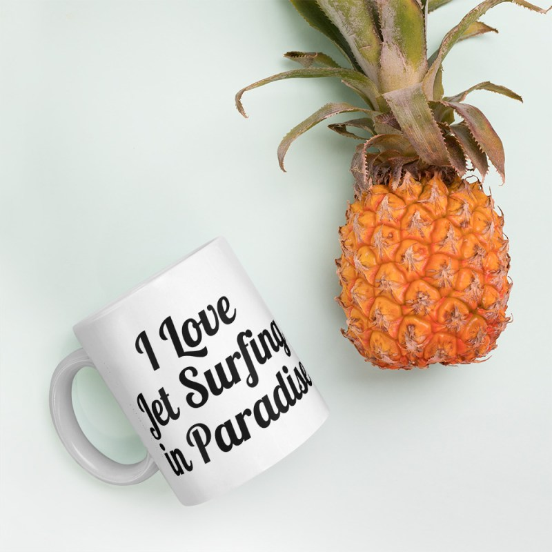 Taza I Love Jet Surfing In Paradise Jet Surf Canary