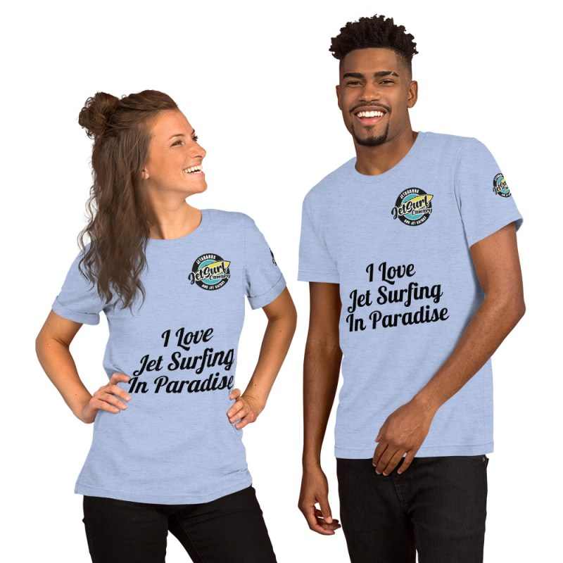 Camiseta I Love Jet Surfing In Paradise Jet Surf Canary