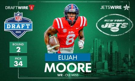 2021 NFL draft: Jets pick Ole Miss WR Elijah Moore with No. 34 pick