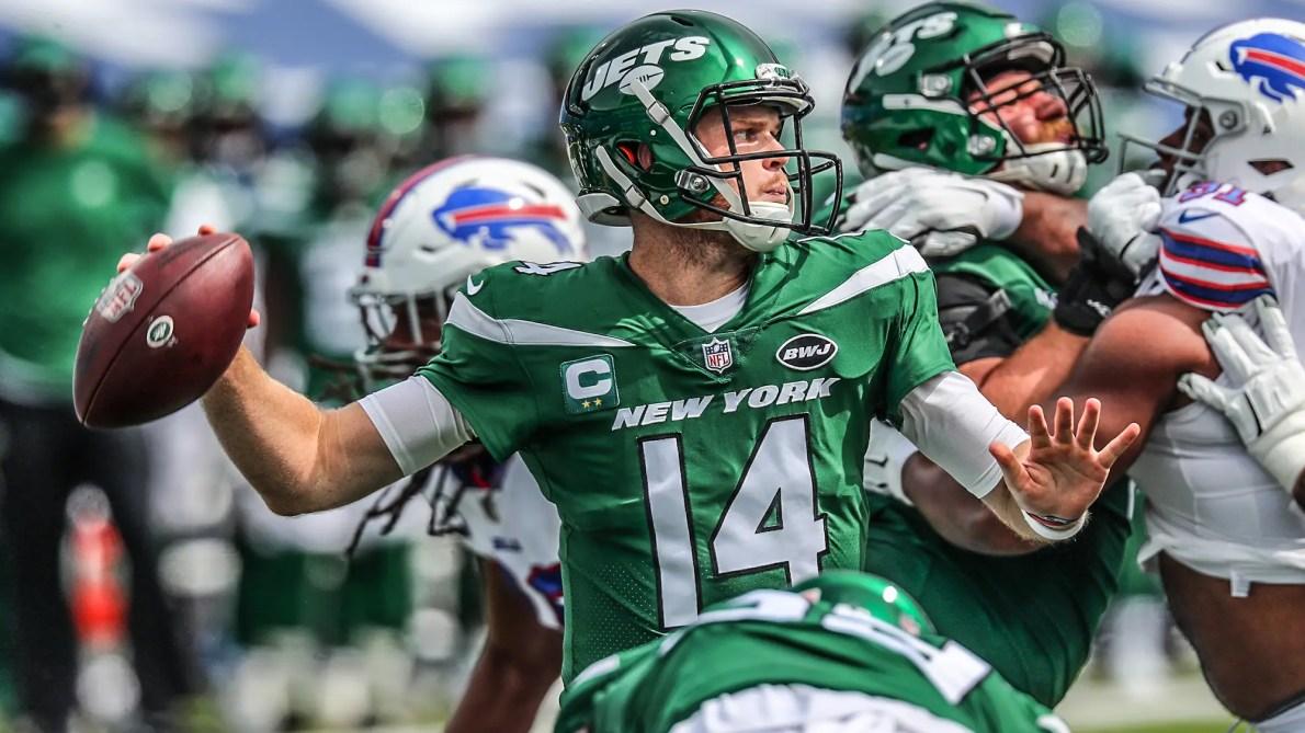 Grading New York Jets QB Sam Darnold: Week 1 at Buffalo Bills