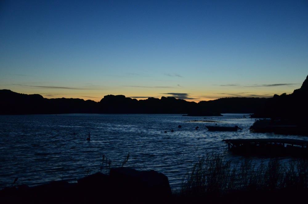 Framme i Tullboden. Vi åkte direkt ner till havet. Så härligt att se hur det ser ut, olika varje gång.