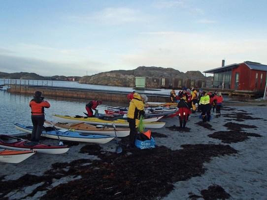 09.00 Samling på stranden innan avfärd