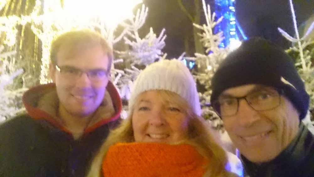 God jul från 3/4 Gustafssons