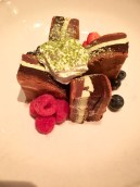 Delish new green tea dessert at Sunda