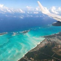 Almost there. Beautiful #ezuma #bahamas