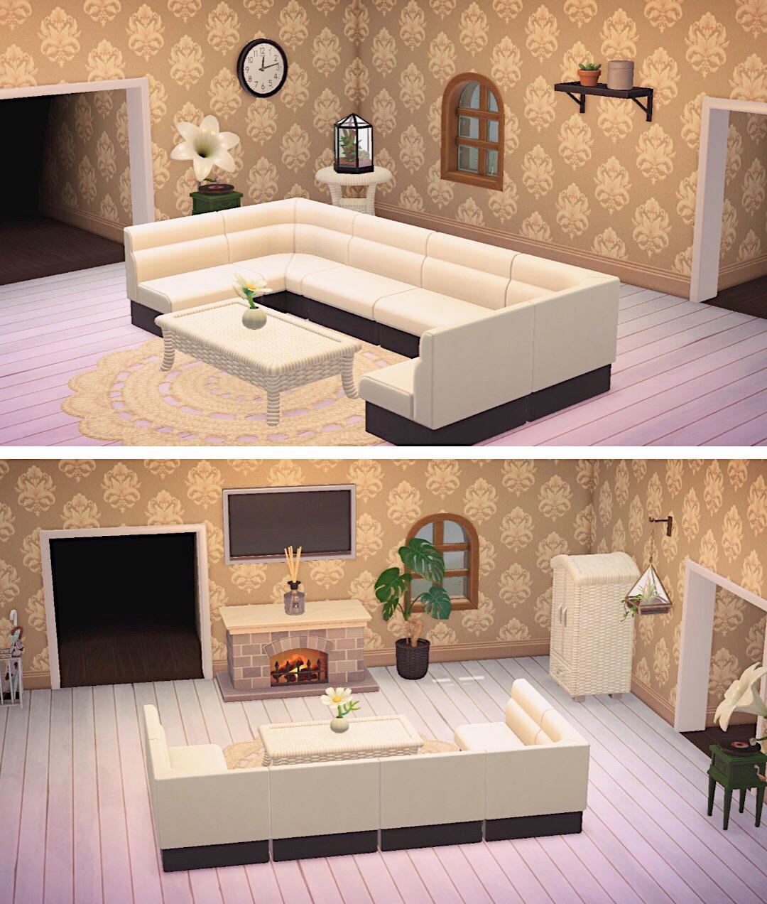 Animal Crossing New Horizons Living Designs on Animal Crossing Living Room Ideas New Horizons  id=30757