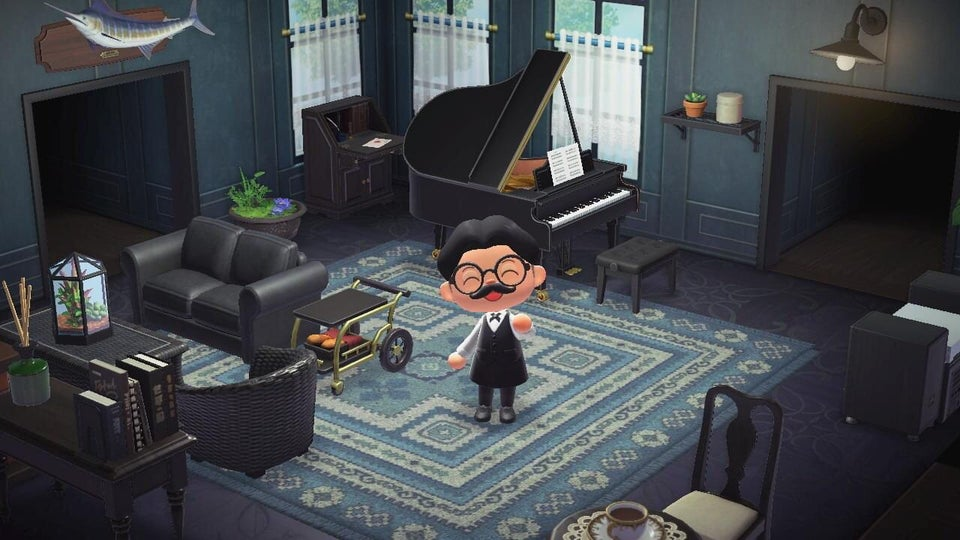Animal Crossing New Horizons Living Designs on Animal Crossing Living Room Ideas New Horizons  id=39583