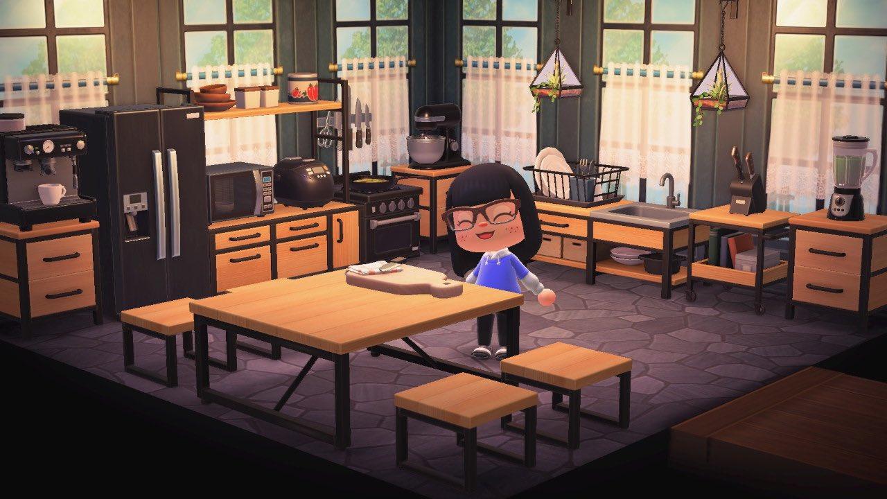 Meilleur Animal Crossing New Horizons Cuisines on Ironwood Furniture Animal Crossing  id=58694