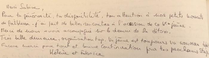 Commentaire d'Hélène et Fabrice