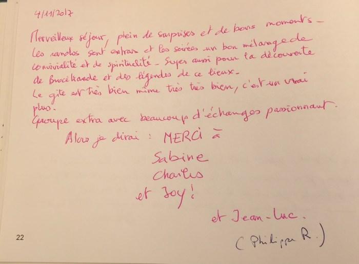 Commentaire de Jean-Luc