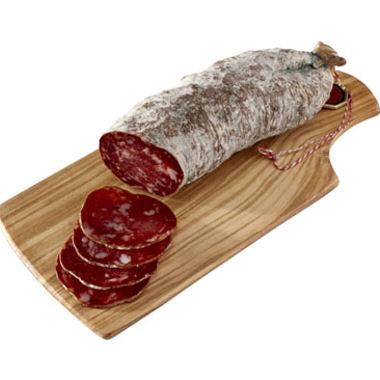 Image de saucisson illustrant la vente de saucissons organisée pour l'autifonancement de la Junior Association Hold' On