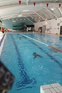 Test d'aisance aquatique pour les jeunes vindiniens.