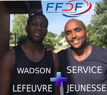 """Wadson et Anthony, ensemble sur le projet """"Championnat d'Europe d'Ultimate Frisbee"""""""