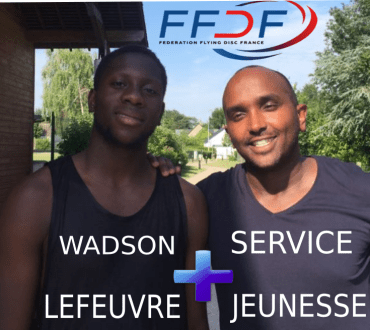 "Wadson et Anthony, ensemble sur le projet ""Championnat d'Europe d'Ultimate Frisbee"""