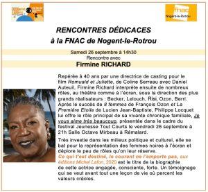 Firmine RICHARD A LA FNAC