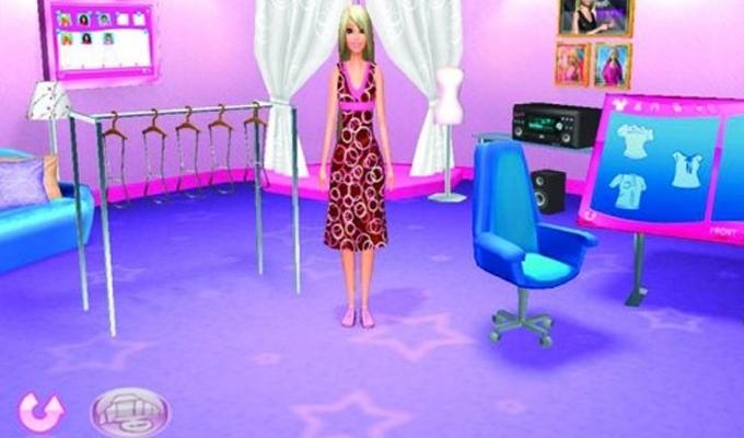 Barbie Fashion Show Game Iso