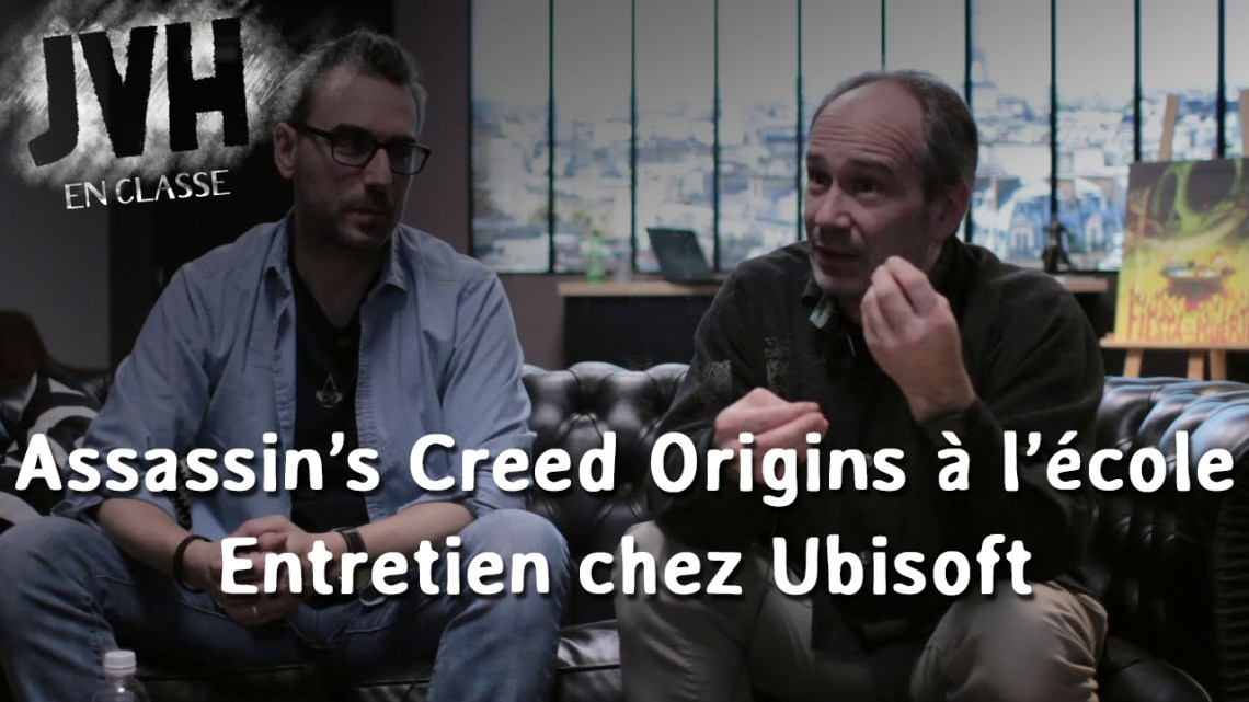 Interview – Le mode éducatif d'Assassin's Creed Origins
