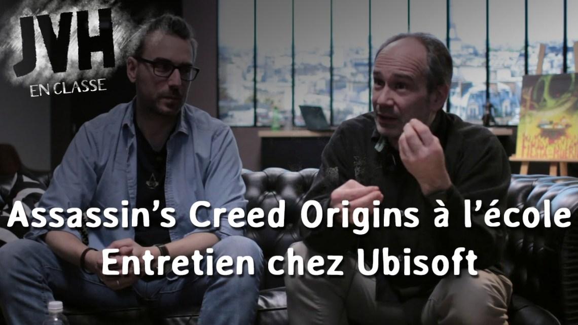 Interview – Le mode éducatif d'Assassin's Creed Origins