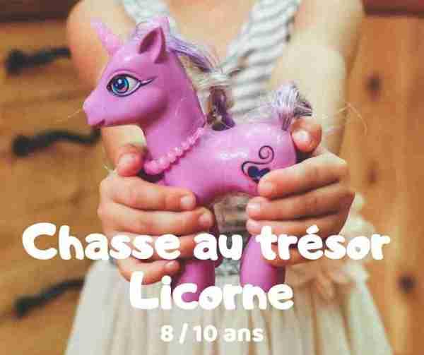chasse au trésor licorne à imprimer