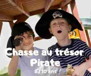chasse au trésor pirate à imprimer