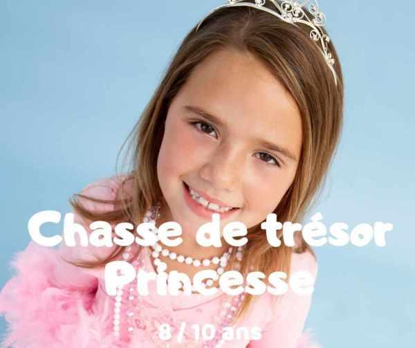chasse au trésor princesse à imprimer