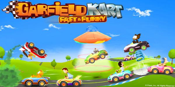 Garfield Kart Fast et Furry Triche Astuce Pièces,Macarons