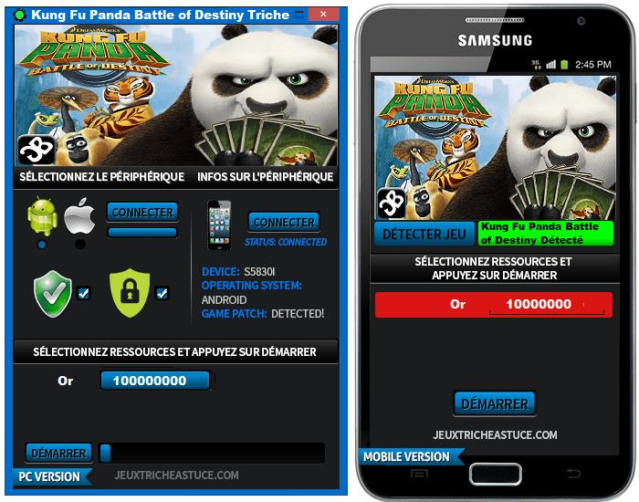 Kung Fu Panda Battle of Destiny Triche,Kung Fu Panda Battle of Destiny Astuce