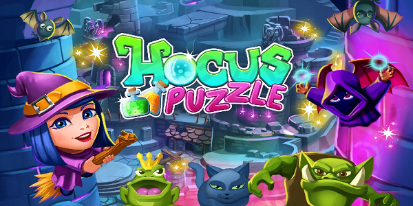 Hocus Puzzle Triche Astuce Gemmes,Vies Illimite