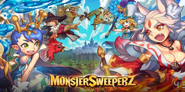 Monster Sweeperz Triche Astuce Or,Rubis Illimite