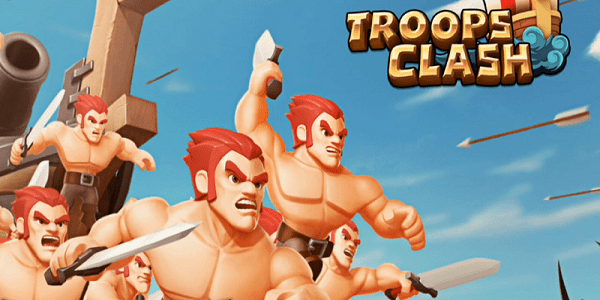 Troops Clash Battle of War Triche Astuce Diamants,Or,Bois