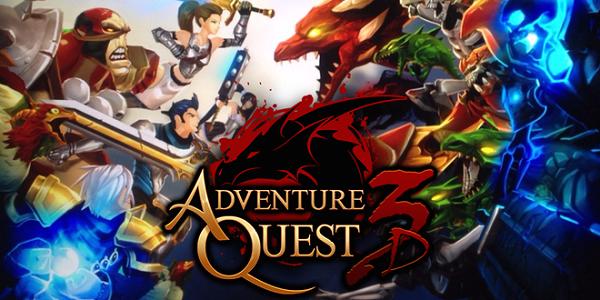 AdventureQuest 3D Triche Astuce Cristaux et Or Illimite