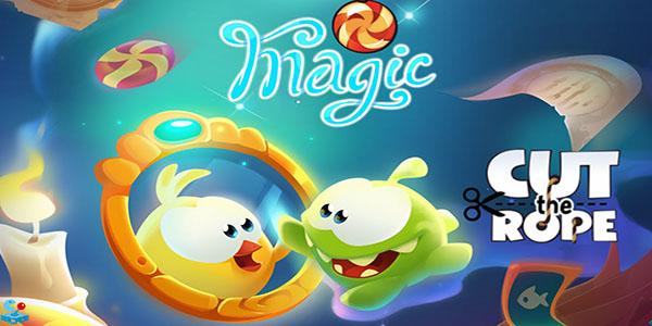 Cut The Rope Magic Astuce Triche En Ligne Cristaux Magiques