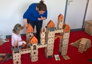 Animation jeux de société jeux en bois médiathèque Morbihan Bretagne