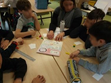 Céation de jeux de société école Morbihan