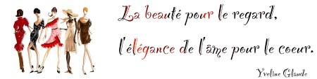 Beauté et Elégance Logo Yveline Glaude