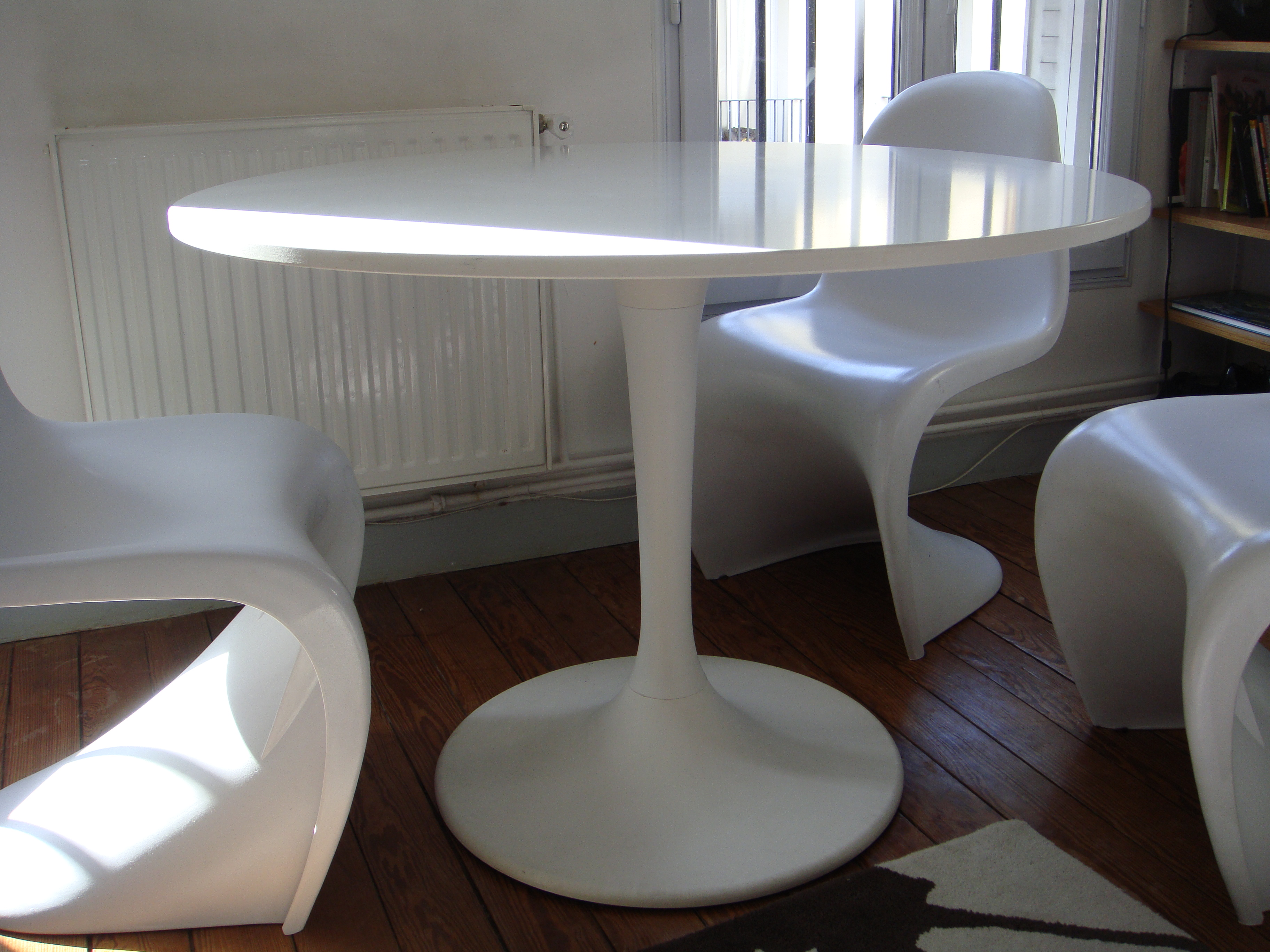 Table Ikea Docksta Je Vide Mon Appart