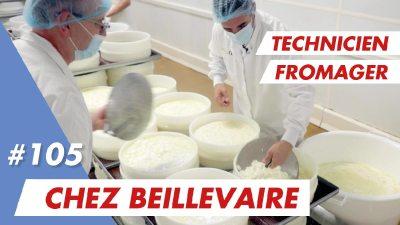 Mon emploi de technicien fromager chez Beillevaire qui recrute !