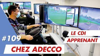 Mon premier CDI Apprenant signé chez Adecco qui recrute !