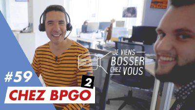 Moi conseiller multimédia au centre de relation clients chez BPGO avec Florian