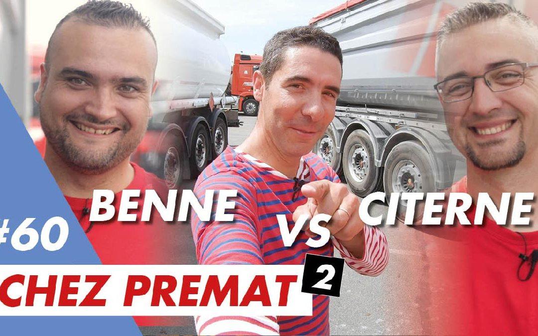 "Benne VS Citerne : mon 1er ""match job test"" chez Transports Prémat"
