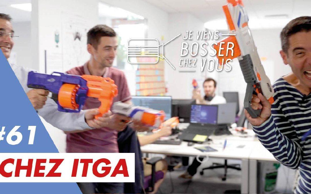 Je bosse en labo avec des développeurs informatiques joueurs chez ITGA qui me recrute…