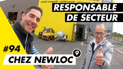 Adelino, responsable de secteur chez Newloc m'explique son job au quotidien