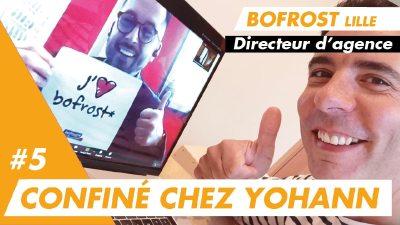 Confiné chez Yohann, directeur de l'agence Bofrost* de Lille