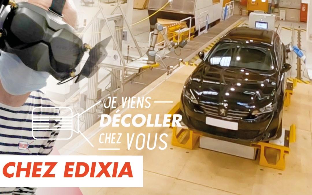 Edixia Automation innove par la vidéo dans l'industrie automobile