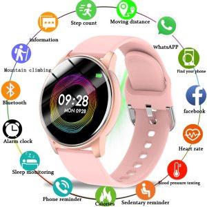Digital Watch Women Luxury Rose Gold Women Sports Watches